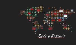 Spór o Kaszmir
