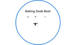 Baking Soda Boat