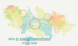 area de normas y convivencia 2ºbim-2015