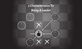 5 Characteristics To Being A Leader