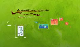 Genmodificering af planter JHs kopi