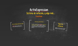 ActivExpression