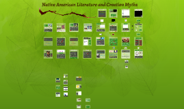 Native American Literature and Creation Myths