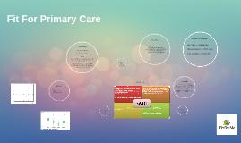 FitFor Primary Care