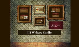 HT Writers' Studio Overview for ACC