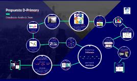 Copy of Propuesta D-Primary