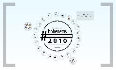 Reportagen aus #hohenems2010