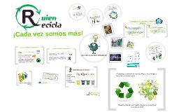 Presentación Reciclaje QR