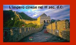 L impero cinese nel III sec. d.C.