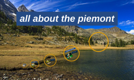 all about the piemont
