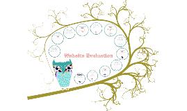 Copy of Website Evaluation