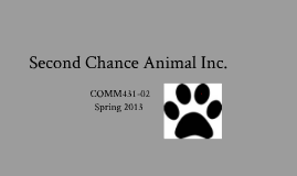 Second Chance Animal Inc