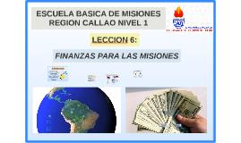 finanzas para las misionesl