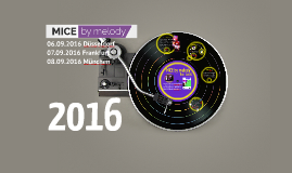 MICE by melody 2016 - the MICE Networking Roadshow