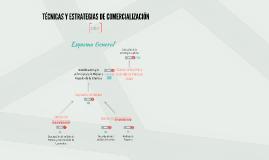 Tecnicas y Estrategias de Comercializacion