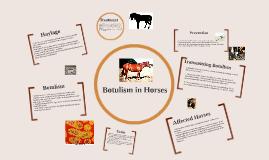 Copy of Botulism in Horses