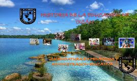HISTORIA DE LA EDUCACIÓN EN IXCAN