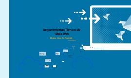 requerimientos tecnicos para construir una página en la Web