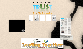 Leading Together: Building Relational Trust Among Adults in Schools