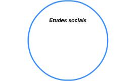 Etudes Socials