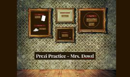 Prezi Practice (6th)
