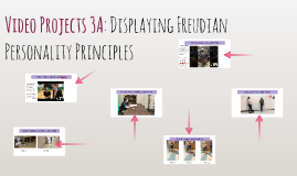 Video Projects: Displaying Freudian Personality Principles
