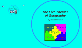 The Five Themes of Geograhy