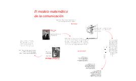 El modelo matemático de la comunicación