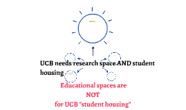 How to prevent UCB from using educational spaces