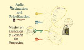 Estimation and Prioritization