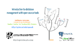 Introduction to database management with open source tools