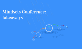 Mindsets Conference: take aways