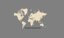 Copy of Explorations around the world