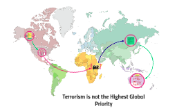 Terrorism is not the Highest Global Priority