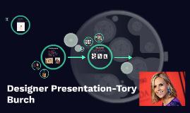 Designer Presentation-Tory Burch