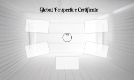 Global Perspectives Certificate
