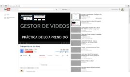 Trabajando con Youtube