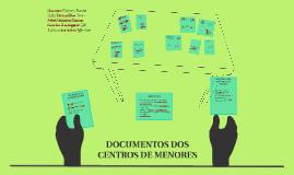 DOCUMENTOS DOS CENTROS DE MENORES