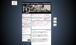 DICTADURA DE REPUBLICA DOMINCANA