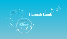 Hannah Lamb