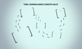 TEMA: GENERALIDADES CONCEPTUALES
