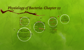 Physiology of Bacteria- Chapter 22