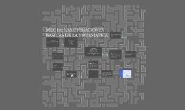 MEC DE LAS OPERACIONES BASICAS DE LA MATEMATICA