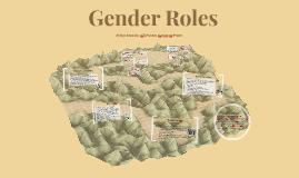 Culture-Gender Roles