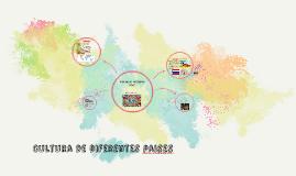 Copy of Cultura de  difrentes paises