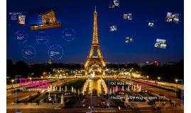 Ik ben op vakantie geweest naar Parijs
