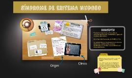 SÍNDROME DE ERITEMA NUDOSO