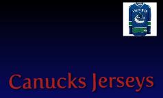 Canucks Jerseys