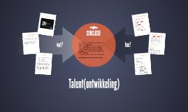 Talent(ontwikkeling)