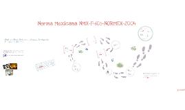 Copy of Copy of Norma Mexicana NMX-F-605-NORMEX-2004